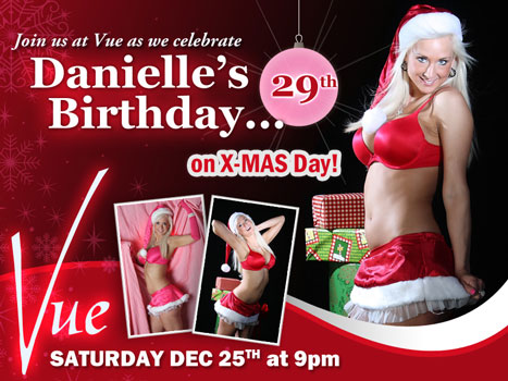 Danielle's Birthday on Xmas Day