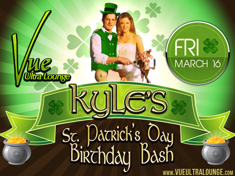 Kyles St Patricks Day Birthday Bash