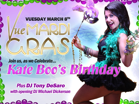 Mardi Gras and Kate Boos Birthday