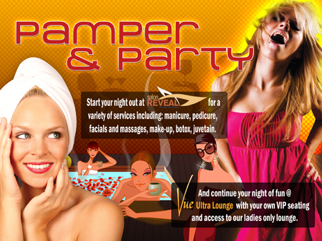 Pamper and Party